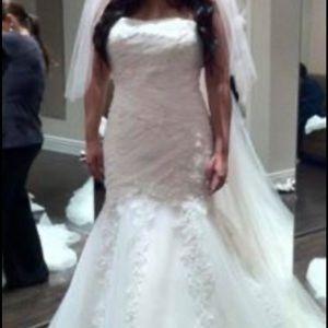 Alfred Angelo style 2083 wedding dress
